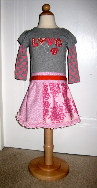 Little Girls Valentine S Day Dress Tutorial The Cottage Mama
