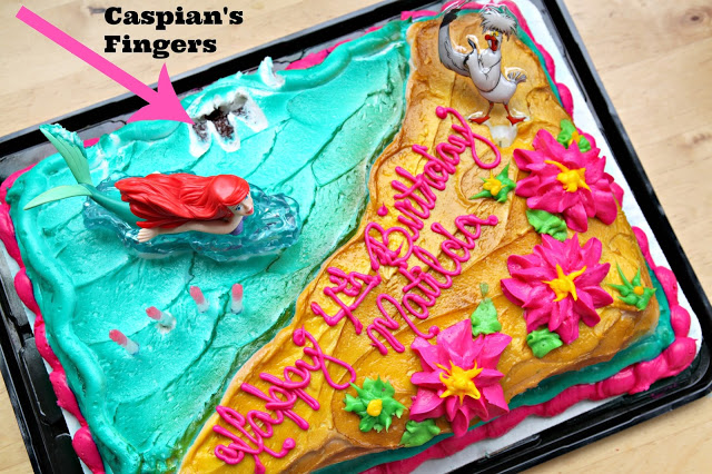 Birthday Cake Outline Printable ~ Mermaid under the sea 4th birthday party with free printable the