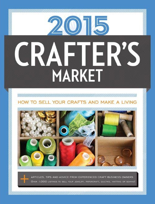 The Cottage Mama, Lindsay Wilkes, contributing author to 2015 Crafter's Market