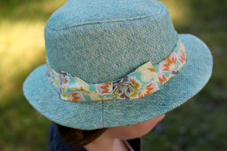 Kids Fedora Hat Sewing Pattern Review - The Cottage Mama 660ca5acbe0