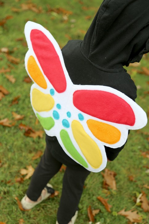Rainbow Unicorn and Rainbow Butterfly Costumes from The Cottage Mama. www.thecottagemama.com
