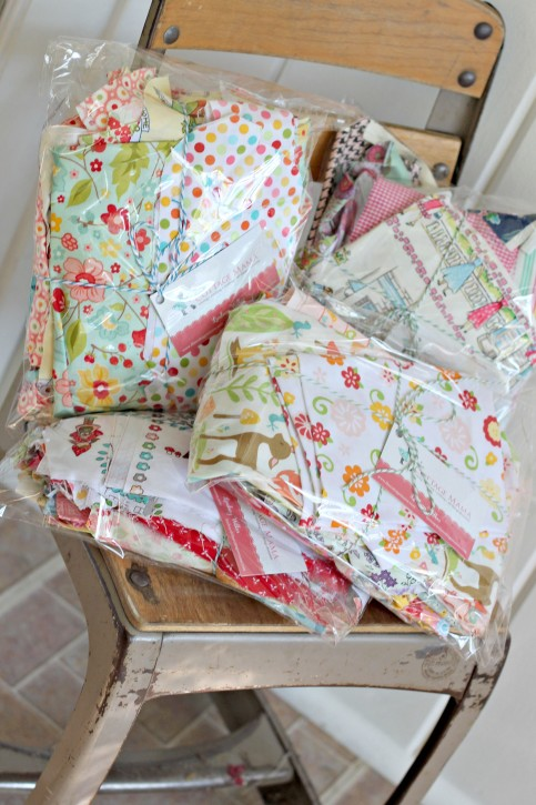 Fabric Destash Sale from The Cottage Mama. www.thecottagemama.com