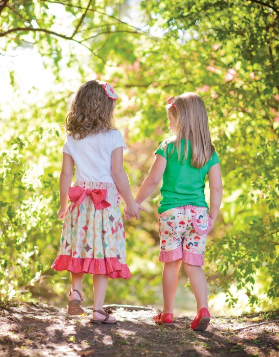Sew Classic Clothes for Girls: 20 Girls' Dresses, Outfits and Accessories from The Cottage Mama. www.thecottagemama.com/book
