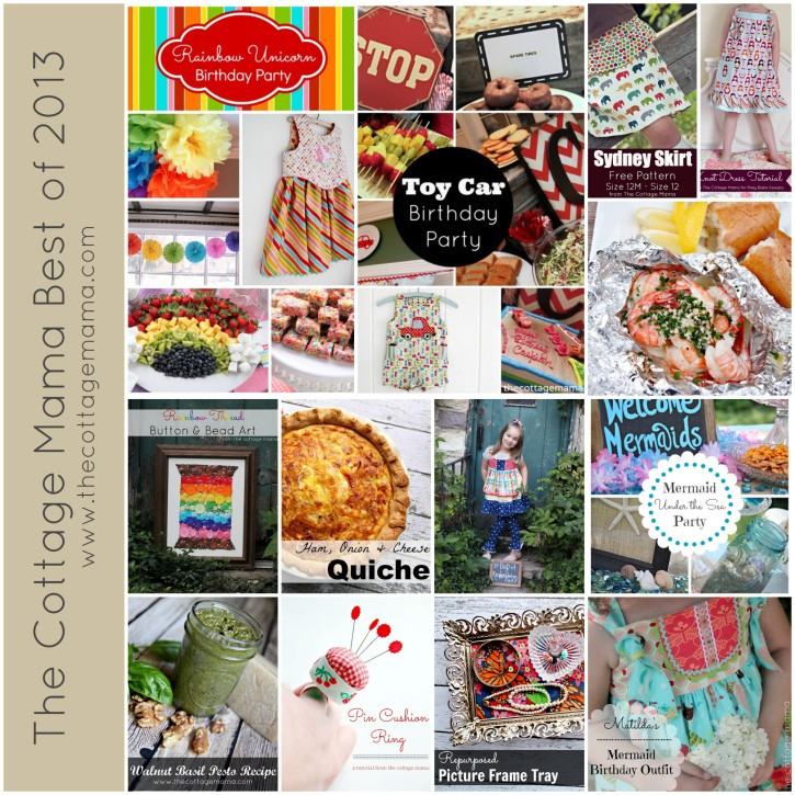 The Cottage Mama Best Projects of 2013. www.thecottagemama.com
