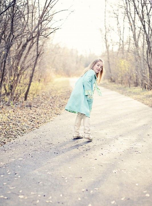 Classic Little Lady Coat. Stylo Magazine. www.thecottagemama.com