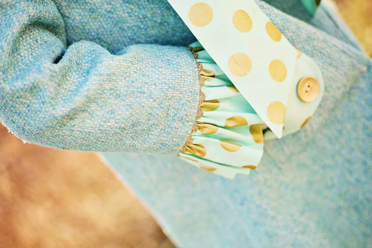 Classic Little Lady Coat. Stylo Magazine. www.thecottagemama.com