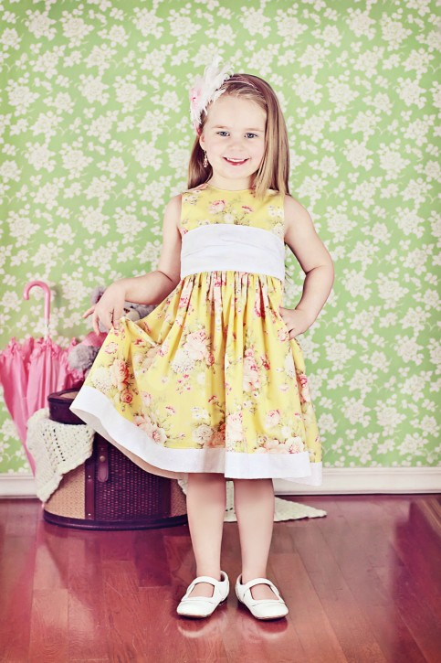 The Party Dress Free Pattern Re Release The Cottage Mama