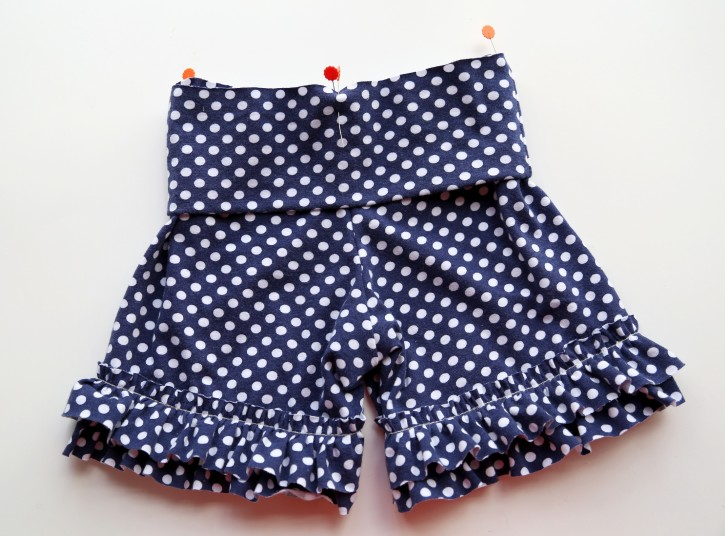 2f35fe9fe Ruffle Shorts Tutorial - The Cottage Mama