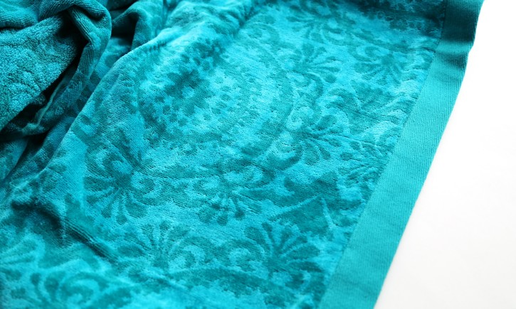 Embroidered Towel Tutorial by Lindsay Wilkes from The Cottage Mama. www.thecottagemama.com