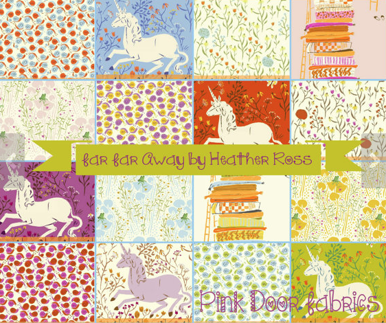 Heather Ross Bundle from Pink Door Fabrics on The Cottage Mama