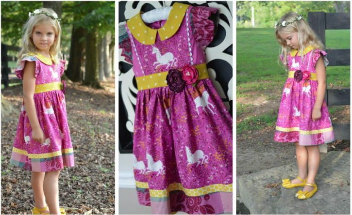 Miss Matilda Dress and Top from The Cottage Mama.www.thecottagemama.com