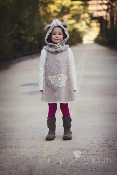 Janey Jumper Pattern from The Cottage Mama. www.thecottagemama.com