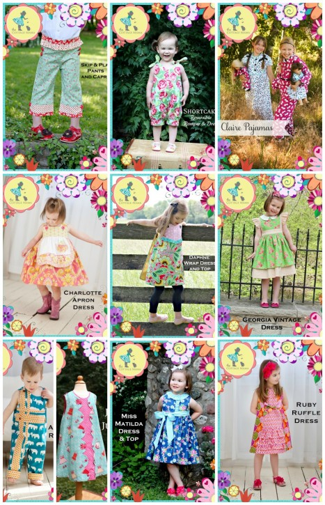 The Cottage Mama Sewing Patterns. Timeless, Classic, Vintage-Inspired Sewing Patterns for kids. www.thecottagemama.com