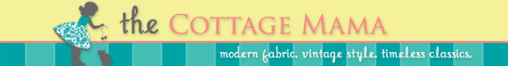 The Cottage Mama Sewing Contest Giveaway. www.thecottagemama.com