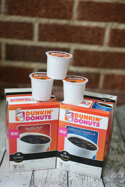 Dunkin' Donut K-Cups Now In-stores! www.thecottagemama.com