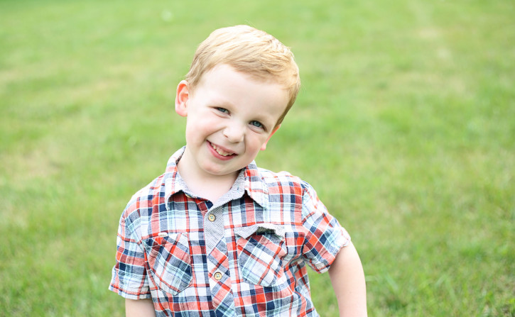 Caspian Finn - 4 Years Old. The Cottage Mama. www.thecottagemama.com