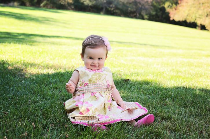 Josephine Mae Turns 1 year old. www.thecottagemama.com
