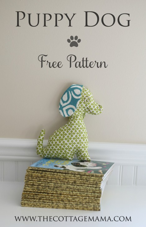 Puppy Dog Stuffed Animal Pattern The Cottage Mama