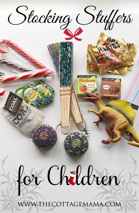 Stocking Stuffer Ideas for Children. These are some of the BEST ideas!! www.thecottagemama.com