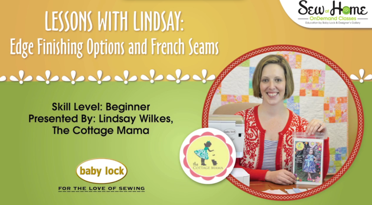 Lessons with Lindsay FREE Sewing Video. These videos are awesome!!