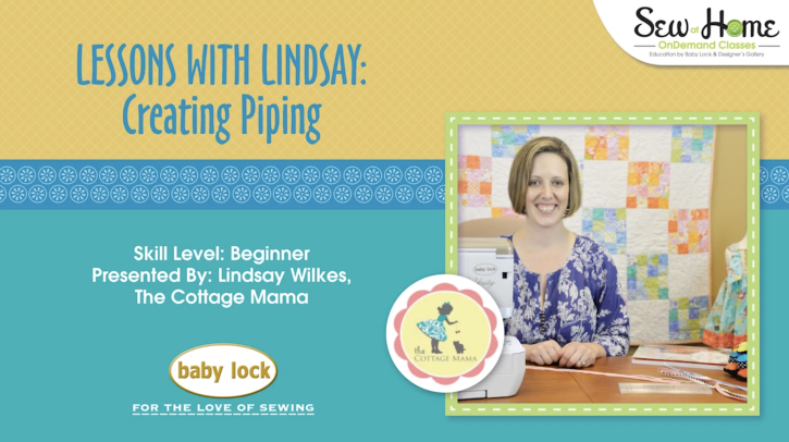 Must Watch! Free video on how to create and use piping. Great video from The Cottage Mama!