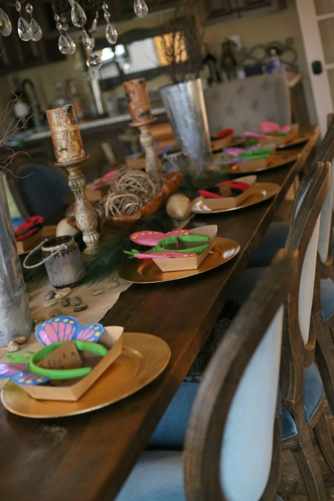 Girls Indoor Camping Themed Birthday Party. The Cottage Mama. www.thecottagemama.com