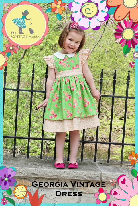 The Cottage Mama Sewing Patterns. www.thecottagemama.com