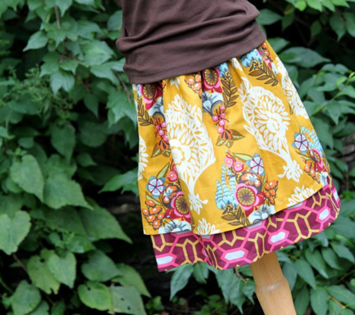Double Layer Twirl Skirt Tutorial from The Cottage Mama.