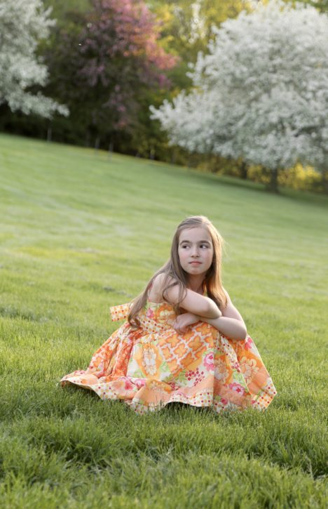 Girls Dresses. Sewing Patterns and Tutorials from The Cottage Mama. www.thecottagemama.com