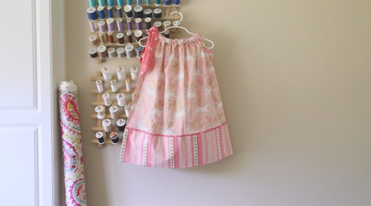 Another Pillowcase Dress Sewing Pattern from The Cottage Mama. www.thecottagemama.com