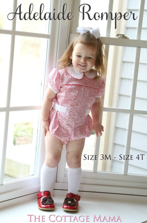 60214b227a0 New Adelaide Bubble Romper and Dress Pattern! - The Cottage Mama