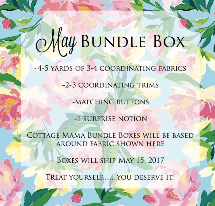 May Bundle Box from Lindsay Wilkes at The Cottage Mama
