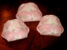 Cloth Baby Doll Diaper Tutorial