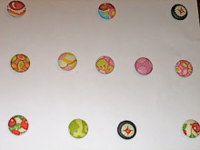 Fabric Covered Button Magnet Tutorial