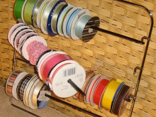 Craft Organization: Ribbon