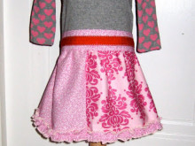 Little Girls Valentine's Day Dress Tutorial