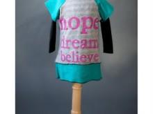 "Challenge Dress #6 – ""Hope, Dream, Believe"""
