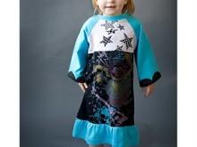 Challenge Dress #4 – Freezer Paper Stenciling