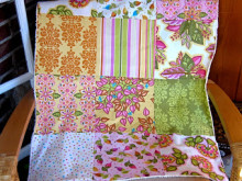 Fat Quarter Baby Quilt & Burp Cloths