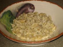 Creamy Pesto Alfredo Pasta