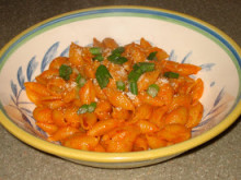 Cajun Roasted Red Pepper Pasta