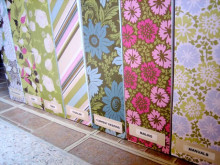 Pretty Scrapbook Paper Covered Magazine File ~ Tutorial
