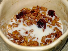 Homemade Cranberry Granola
