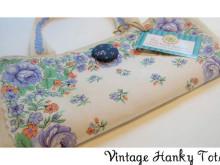 Vintage Hanky Tote Tutorial