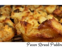 Individual Pecan Bread Pudding