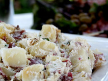 Loaded Potato Salad Recipe from Matilda's Summer Garden Party