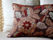 Easiest 10-Minute Throw Pillow from Placemat