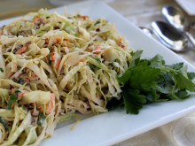 Maple Pecan Coleslaw