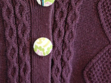 Something for Mama – Sweater Refashion with Cottage Style