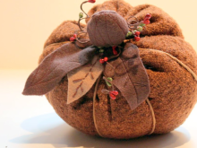 Fall Fabric Pumpkin Tutorial